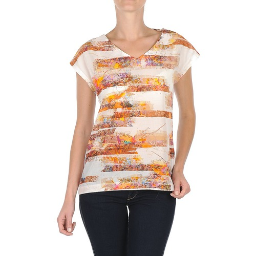 Vêtements Femme T-shirts manches courtes TBS JINTEE Blanc