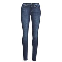 Vêtements Femme Jeans slim Only ONLSHAPE Bleu foncé