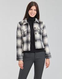 Vêtements Femme Vestes / Blazers Only ONLLOU Ecru / Noir