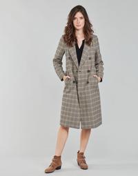 Vêtements Femme Manteaux Only ONLZOEZUE Marron