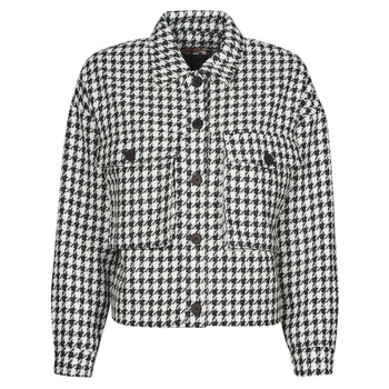Vêtements Femme Vestes / Blazers Moony Mood PABLAINCOURS Noir / Blanc