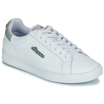 Chaussures Femme Baskets basses Ellesse CAMPO Blanc / Argenté