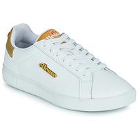 Chaussures Femme Baskets basses Ellesse CAMPO Blanc / Doré