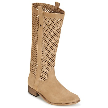 Botte ville Betty London DIVOUI Camel