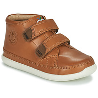 Chaussures Enfant Baskets montantes Shoo Pom CUPY SCRATCH Marron