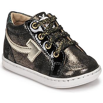 Chaussures Fille Baskets montantes Shoo Pom BOUBA ARROW Noir