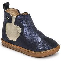 Chaussures Fille Boots Shoo Pom BOUBA APPLE Bleu