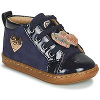 Chaussures Fille Baskets montantes Shoo Pom BOUBA HEART Bleu