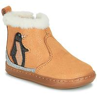 Chaussures Fille Boots Shoo Pom BOUBA ICE Marron