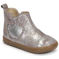 Chaussures Fille Boots Shoo Pom BOUBA NEW APPLE Bleu