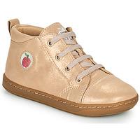 Chaussures Fille Baskets montantes Shoo Pom BOUBA ZIP LACE Rose