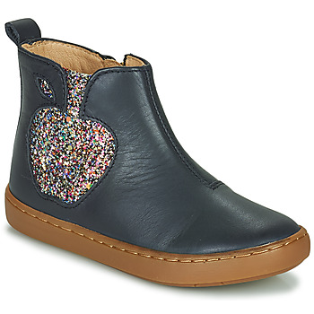 Chaussures Fille Boots Shoo Pom PLAY APPLE Bleu