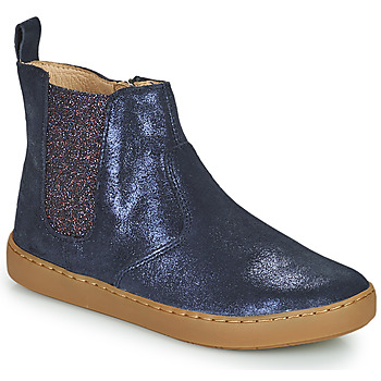 Chaussures Fille Boots Shoo Pom PLAY CHELSEA Bleu