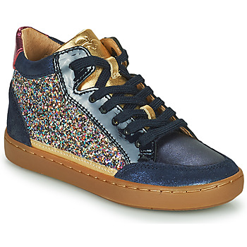 Chaussures Fille Baskets montantes Shoo Pom PLAY CONNECT Bleu