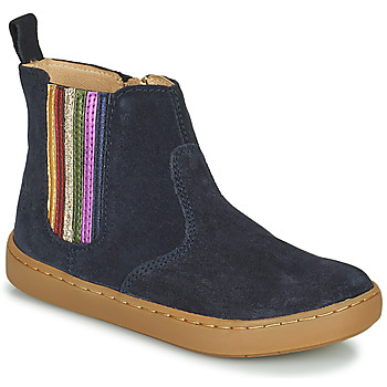Chaussures Fille Boots Shoo Pom PLAY NEW SHINE Bleu