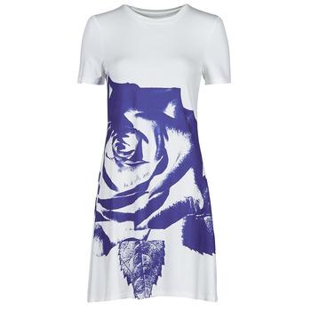 Vêtements Femme Robes courtes Desigual WASHINTONG Blanc/ Bleu