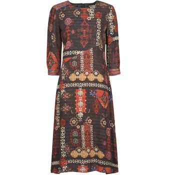 Vêtements Femme Robes longues Desigual ALBURQUERQUE Multicolore