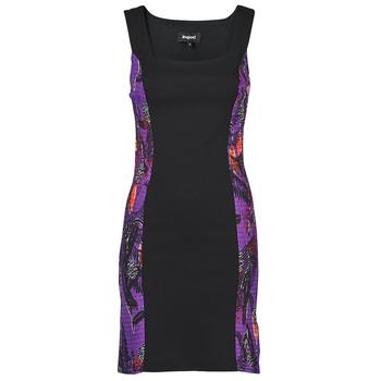 Vêtements Femme Robes courtes Desigual BATON ROUGE Multicolore