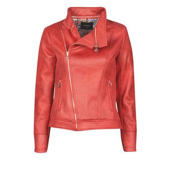 Vêtements Femme Vestes en cuir / synthétiques Desigual MARBLE Rouge