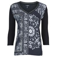 Vêtements Femme T-shirts manches courtes Desigual VARSOVIA Multicolore