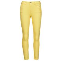 Vêtements Femme Pantalons 5 poches Desigual ALBA Jaune