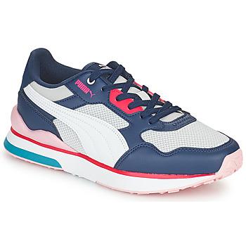 Chaussures Femme Baskets basses Puma FUTURE Blanc / Gris / Bleu / Rouge