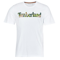 Vêtements Homme T-shirts manches courtes Timberland SS FT LINEAR TEE Blanc