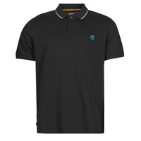 Vêtements Homme Polos manches courtes Timberland BRAND CARRIER POLO Noir