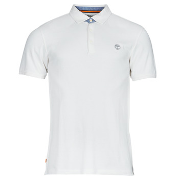 Vêtements Homme Polos manches courtes Timberland OXFORD POLO Blanc