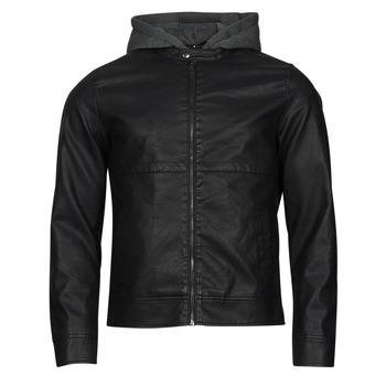 Vêtements Homme Vestes en cuir / synthétiques Jack & Jones JCOWILLY Noir