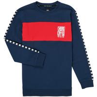 Vêtements Fille Sweats Vans SOLAL Bleu / Rouge