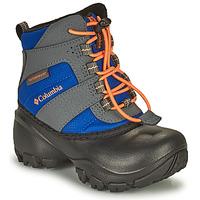 Chaussures Enfant Bottes de neige Columbia CHILDRENS ROPE TOW Bleu / orange