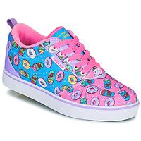 Chaussures Enfant Chaussures à roulettes Heelys Pro 20 Rose / Lavande / Bleu