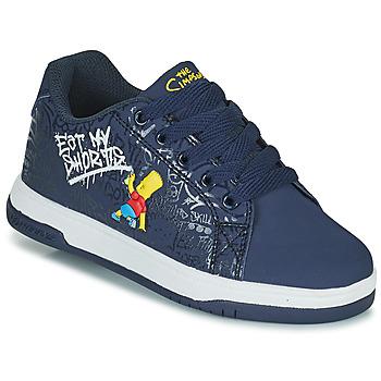 Chaussures Enfant Chaussures à roulettes Heelys SPLIT Bleu