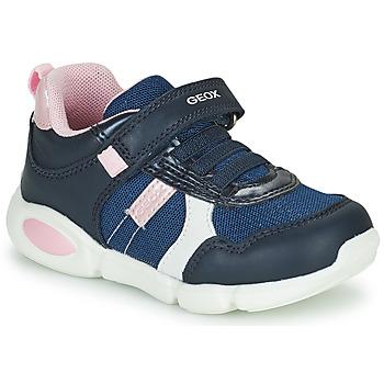 Chaussures Garçon Baskets basses Geox B PILLOW Bleu