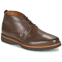 Chaussures Homme Boots Clarks BAYHILLMID Marron