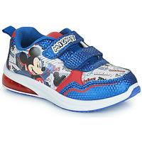 Chaussures Garçon Baskets basses Disney MICKEY Bleu