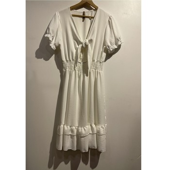 Vêtements Femme Robes courtes Fashion brands 9176-BLANC Blanc