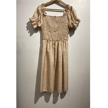 Vêtements Femme Robes courtes Fashion brands 53176-BEIGE Beige
