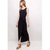 Vêtements Femme Robes longues Fashion brands ERMD-1682-NEW-NOIR Noir
