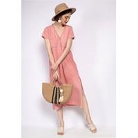 Vêtements Femme Robes longues Fashion brands 6658-CORAIL Corail
