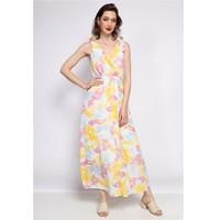 Vêtements Femme Robes longues Fashion brands R185-JAUNE Jaune