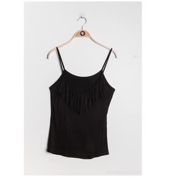 Vêtements Femme Tops / Blouses Fashion brands D852-BLACK Noir