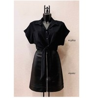Vêtements Femme Tops / Blouses Fashion brands ERMD-13819-N-BLACK Noir