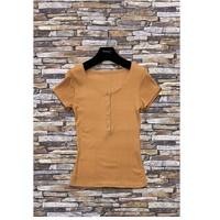 Vêtements Femme Tops / Blouses Fashion brands HS-2863-BROWN Marron