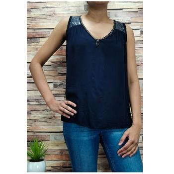 Vêtements Femme Tops / Blouses Fashion brands 2940-BLACK Noir