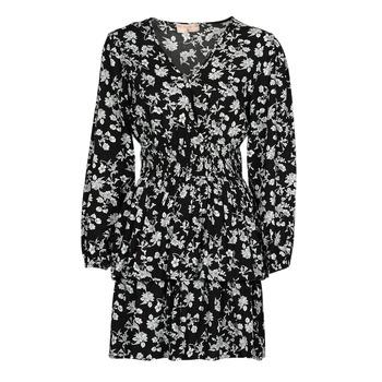 Vêtements Femme Robes courtes Moony Mood PAPIS Noir / Blanc