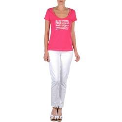 Vêtements Femme Pantalons 5 poches Tommy Hilfiger LENNY Rose