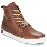 Chaussures Homme Baskets montantes Blackstone INCH WORKER ON FOXING FUR Marron
