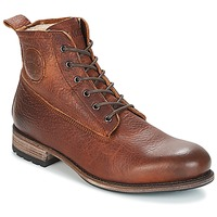 Chaussures Homme Boots Blackstone MID LACE UP BOOT FUR Marron